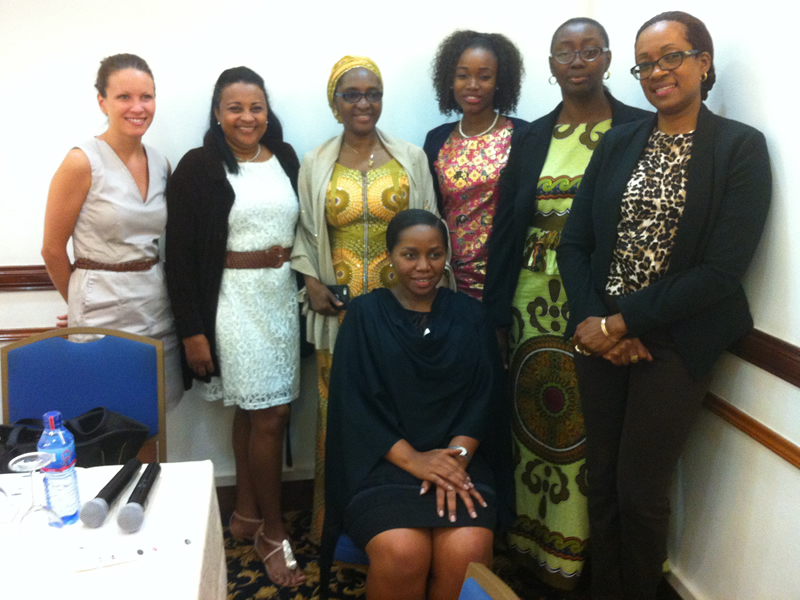 Female participants at the EITI Regional Workshop in Ghana August 2015